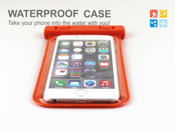 This Waterproof Case Used In Most Mobile Phones