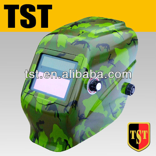 TST China OEM auto darkening welding helmet with high quality