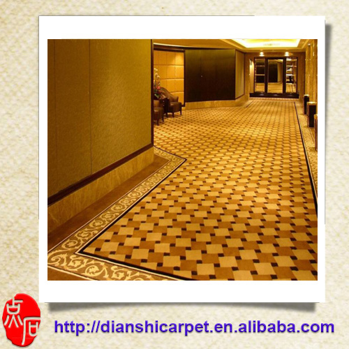luxury wool wall to wall hotel corridor banquet hall axminister carpet
