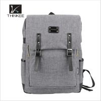 promotional backpack custom leather bags 2016 New Trendy Waxed Canvas Backpack