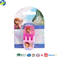 FJ brand frozen 2 pcs per set hair clip claw plastic round hair claw clip for kids
