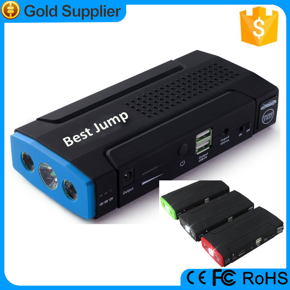 2015 high quality CE ROHS 19v multi-function mini car jump starter