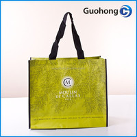 High quality durable product 120gsm laminated pp woven bag for shopping