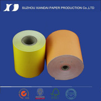 thermal paper roll in two colors track red black 80mm