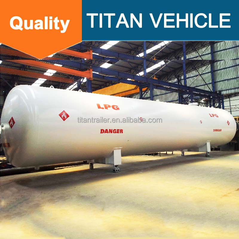 widely used 100 ton natural gas chemical lpg gas transport storage tank for sale