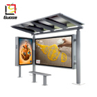 guose good quality solar power bus stop shelter