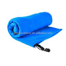 Woqi New Design Kids lightweight polar fleece heated sleeping bag for Spring & Summer
