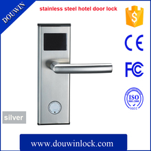 Hotel card key lock with euro mortise for locks