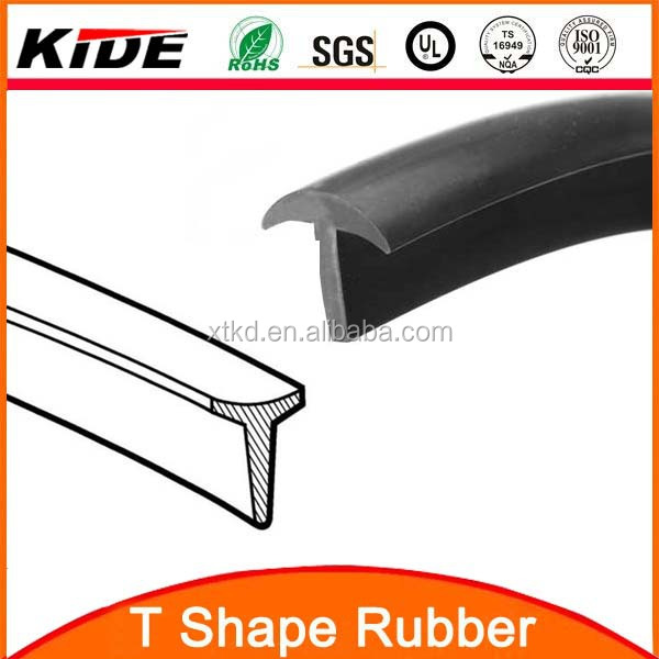 t shape rubber epdm silicone rubber extrusion strips of rubber buy rubber epdm rubber. Black Bedroom Furniture Sets. Home Design Ideas