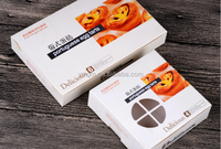 Nine packs custom high quality egg tarts box/Low price high quality baking supplies packaging