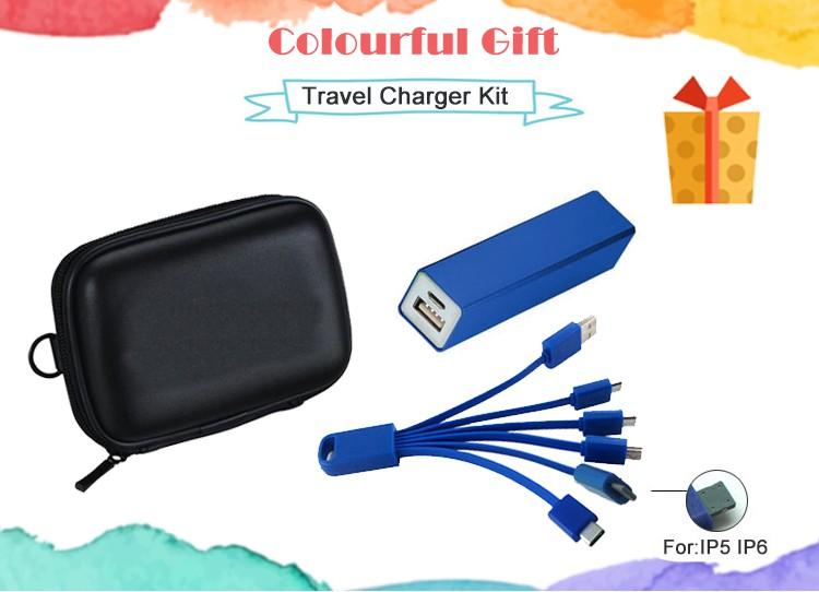 travel charging set power bank