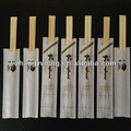 disposable high quality twin bamboo chopsticks