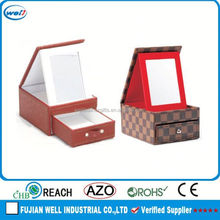 High End pu leather organizer of jewelry holder