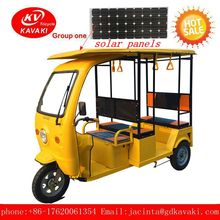three wheels tricycle Solar Electric Car Prices Tuk Tuk For Passenger