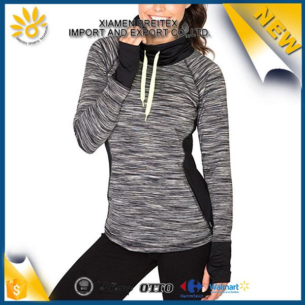 Good quality wholesale sport women warm sherpa fleece pullover
