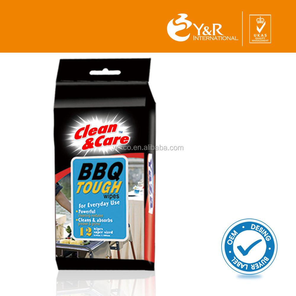 YRBQWCW147 BBQ Clean Wet Wipes Hot in Canada