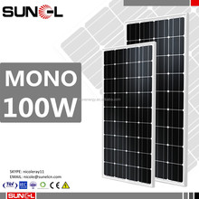 solar panel 100w 12v 90w 110w 95w 105w for caravan motorhome