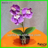 free sample quality 3 pcs artificial potted flower
