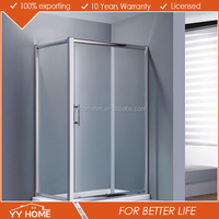 YY Home glass enclosed showers/ sex glass door shower room/ shower cabin simple