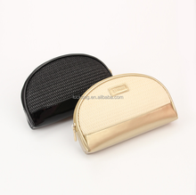 Half Rounded Promotional High-Fashion Design Eco Beauty Cosmetic Bag