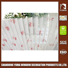 first quality decorative vertical shangri-la blinds