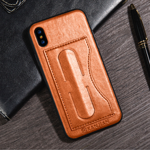 Factory OEM Wholesale Fashion Creative Case For iPhone 8 PU Leather Full Body Protective Phone Case Back Cover with stand