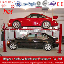 Car Stack Parking Equipment / Narrow Garage Parking Lift