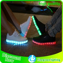 adult led shoes best quality sneakers led shoes