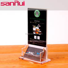 Customized Acrylic Standing Up Name Card Holder