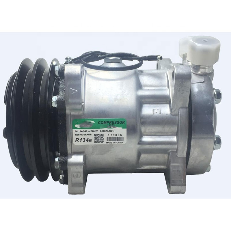 SD7H15 Sanden 7H15 8220 Air Conditioner AC Compressor