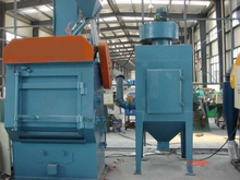 Q326 crawler type shot blasting machine to remove the oxide skin and surface strengthening