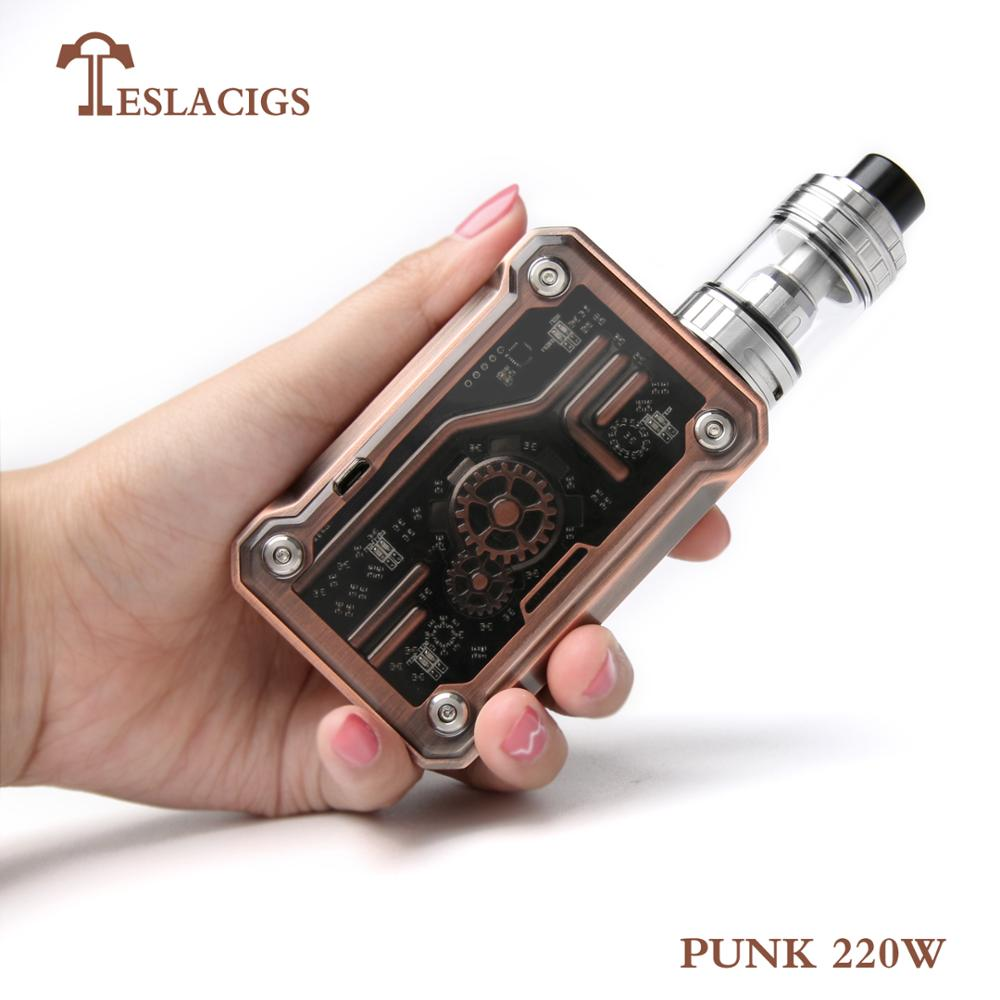 2018 newest mod Punk 220w kit from Teslacigs China manufacture Tesla punk 220w