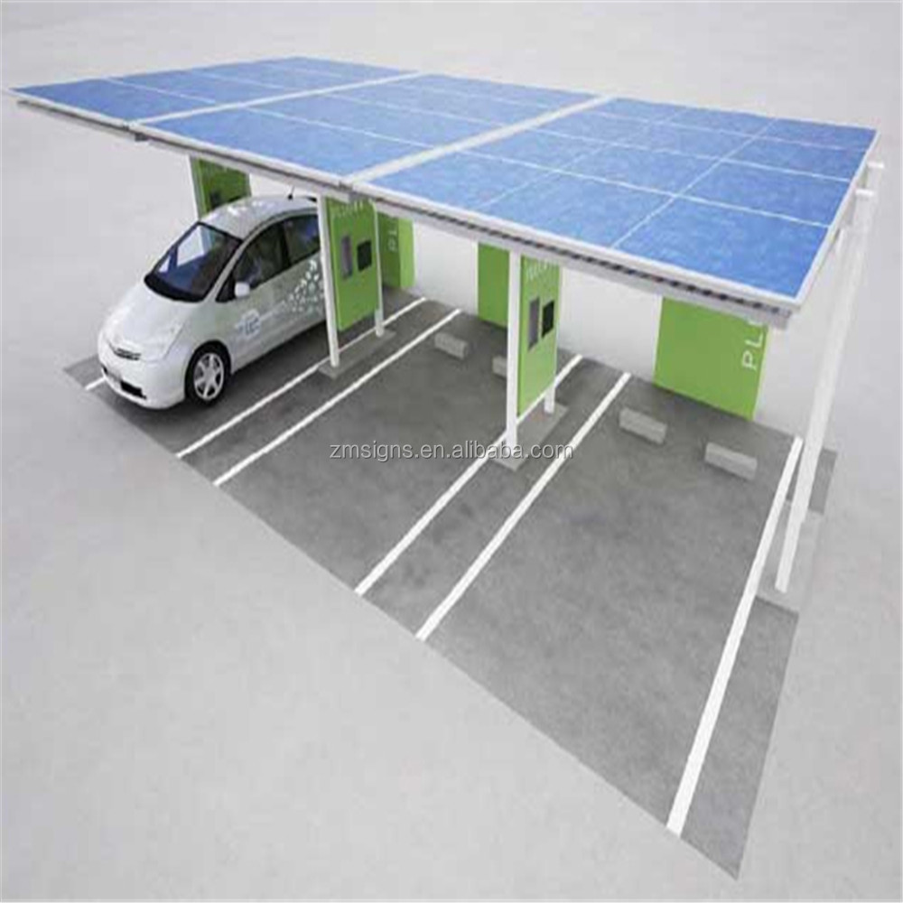 ZMsigns Envision solar EV ARC solar charging station for home or car