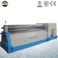 Hoston heavy duty plate rolling machine small manufacturing machines