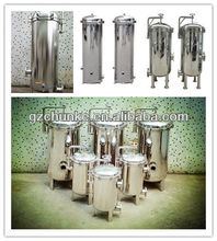 stainless steel pp string wound water filter cartridge for water treatment