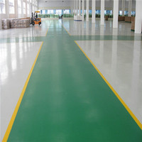 water based resin garage concrete floor paint epoxy coating , acid resistance dust proof liquid epoxy floor coating