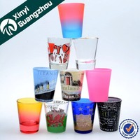 Wholesale hot selling 2oz souvenir promotion custom printing shot glass