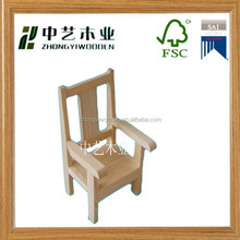 mini promotional chinese Gift wooden chair,DIY children wooden educational toys