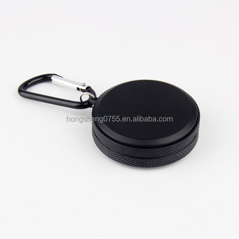 Good Quanlity Customized Metal Smoking Cover Lid Mini Pocket Portable Car Cigarette Ashtray with Key Chain
