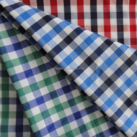 TTC multicheck 100D*45S yarn dyed check fabric