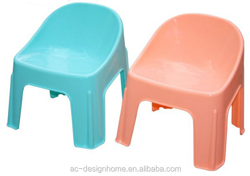 FUCHSIA, TURQUOISE, LIME GREEN, ORANGE PP PLASTIC ARMLESS WHITE PLASTIC CHAIR