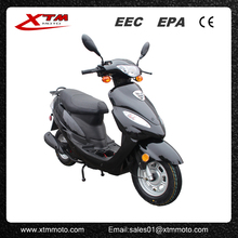 Gas powered electric start 50cc mini moped
