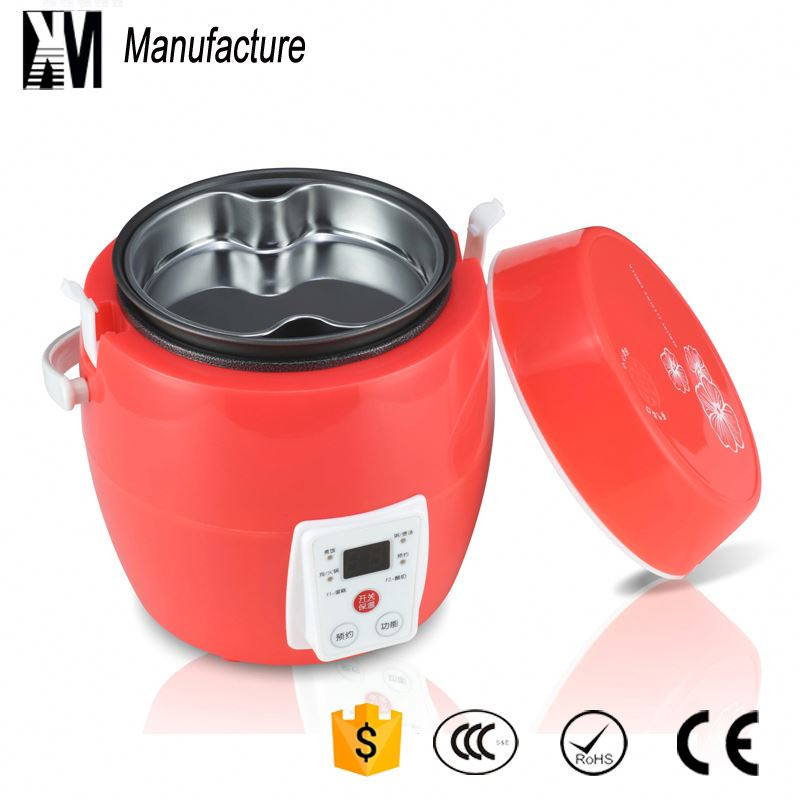 Factory directly supplying 12 hours reservation function electric appliance small rice cooker