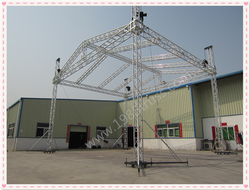 Spigot aluminum global truss concert stage truss manufacturer on sale in China