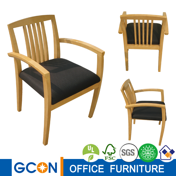 Wooden office conference chair, visitor chair, guest chair import furniture from china