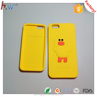 Custom silicone rubber case for mobile phone