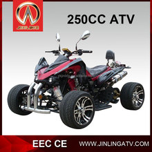 2017 new model hot sale product jinling 4 wheelers atv quad