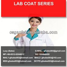 nonwoven and disposable men\s lab coat for hospital using