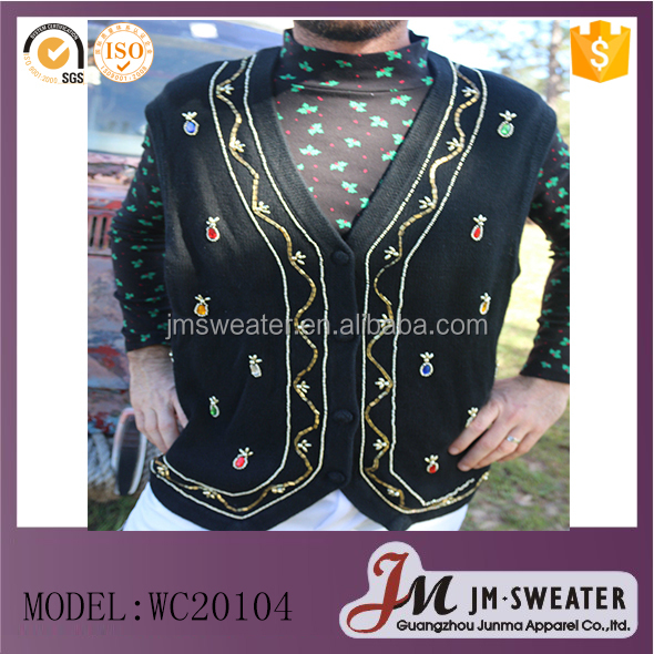 cool Christmas woolen sweater design for man 2016