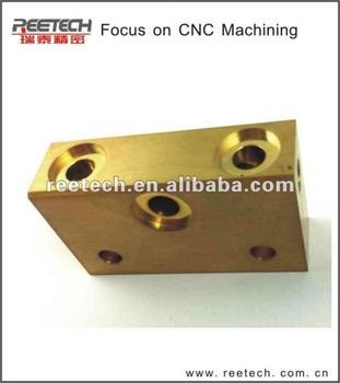 HOT!! High precision brass mechanical parts